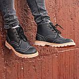 Ботинки мужские зимние South Rebel black, зимние классические ботинки, фото 5
