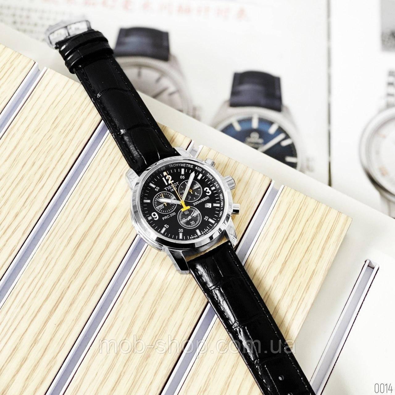 Мужские наручные часы Tissot T-Sport PRC 200 Chronograph Black-Silver-Black-Yellow