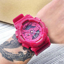 Електронний кварцовий наручний годинник Casio G-Shock AAA GA-110 Red