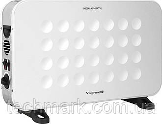 Конвектор электрический обогреватель VILGRAND VCH7143UTR_white