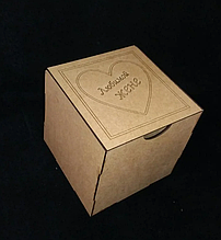 Подарочная коробка крафт 130