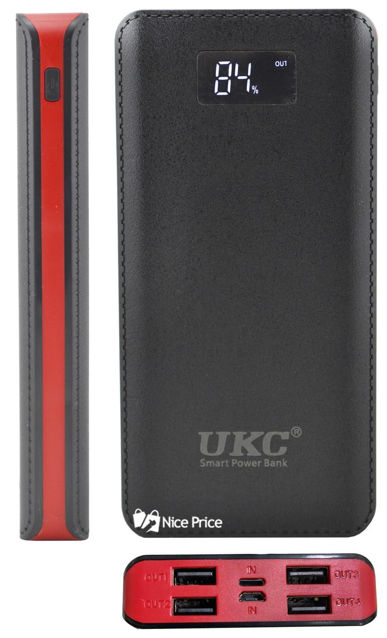 Внешний акумулятор Power bank 50000 mAh UKC с экраном M9 Black (4204)