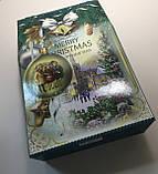 Новогодняя коробка, Щирі вітання!, 2000 гр, Картонная упаковка для конфет, фото 6