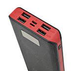 Внешний акумулятор Power bank 50000 mAh UKC с экраном M9 Black (4204), фото 7