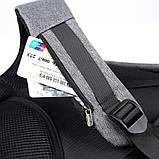 """Рюкзак Bobby 2.0 17"""" XD Design c защитой от карманников и с USB для зарядки (Реплика) (4581), фото 9"""