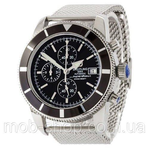 Мужские наручные часы Breitling  A23870 Chronographe Silver-Black