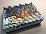 Новогодняя коробка с крышкой, Санта, 1000 гр, Картонная упаковка для конфет и подарков, фото 5