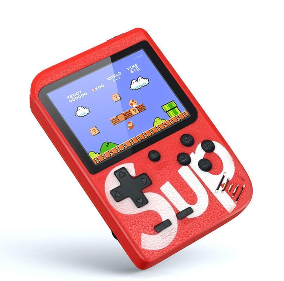Ретро игровая приставка (Игровая консоль) Game Box sup 400 игр в 1 Red