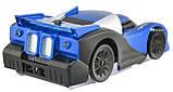 Антигравитационная машинка радиоуправляемая игрушка Wall Climber P801 Blue, фото 3