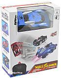 Антигравитационная машинка радиоуправляемая игрушка Wall Climber P801 Blue, фото 5
