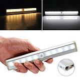 Светодиодный LED светильник с датчиком движения Motion Brite (0633), фото 2