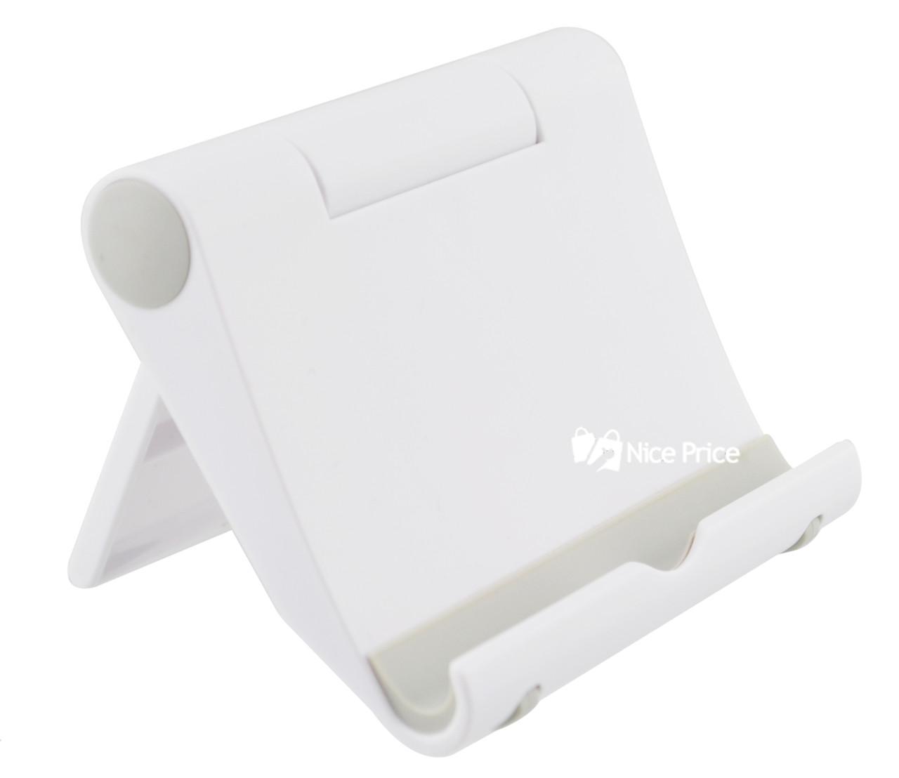 Регулируемая настольная подставка для мобильного телефона (планшета) Dellta 300/300 White