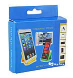 Регулируемая настольная подставка для мобильного телефона (планшета) Dellta 300/300 White, фото 3