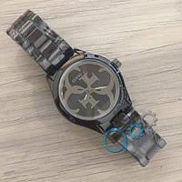 Чоловічий стильний наручний годинник Guess 7222 GZM Black