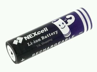 Аккумулятор батарея NEXcell 18650 6000 mAh 3,7V