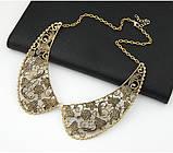 Старинная ретро подвеска воротник ожерелье, фото 4