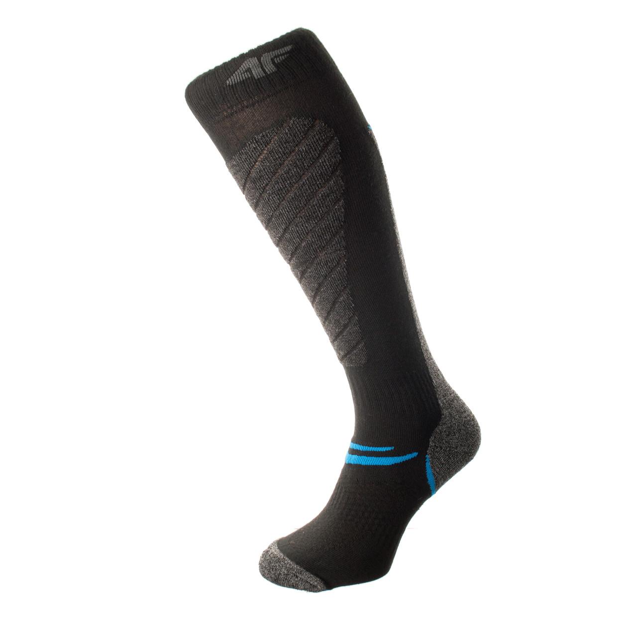 Шкарпетки лижні 4F Warm 39-42 black-deep grey
