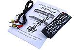 Портативный DVD Плеер 422 USB, фото 3