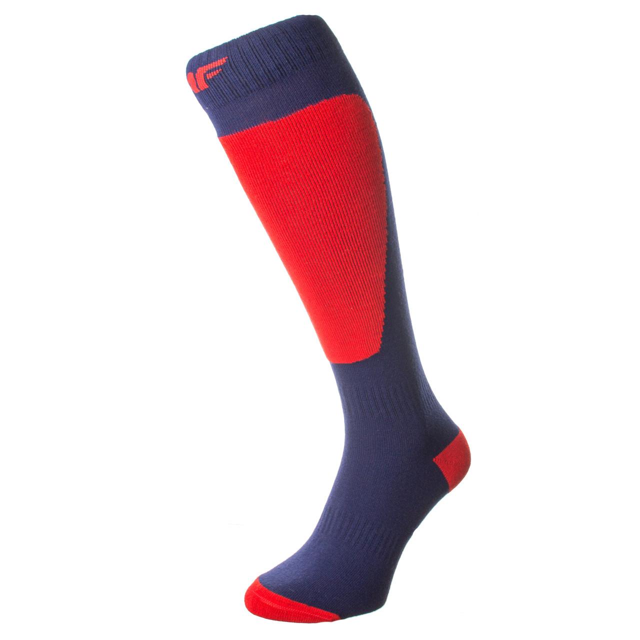Лижні Шкарпетки 4F Warm 43-46 navy-red
