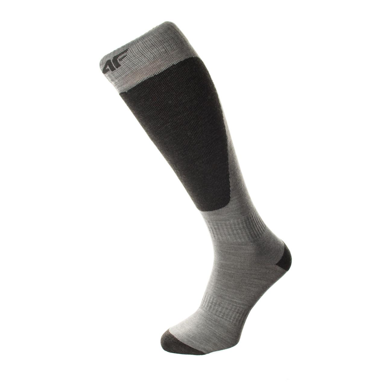 Лижні Шкарпетки 4F Warm 43-46 grey-white