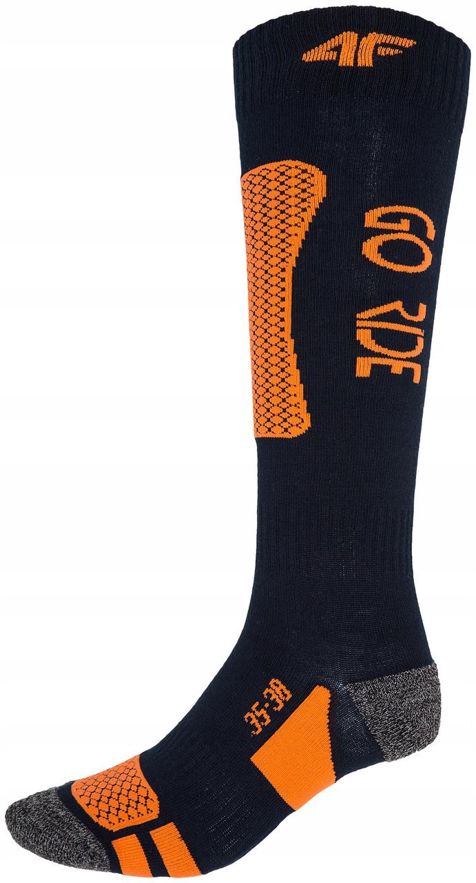 Лижні Шкарпетки 4F Warm 39-42 navy-orange