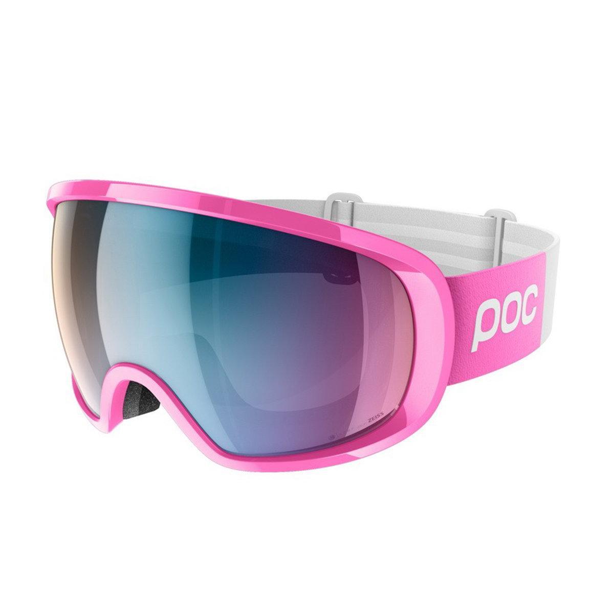 Маска гірськолижна POC Fovea Clarity Comp Actinium pink/Spektris Pink