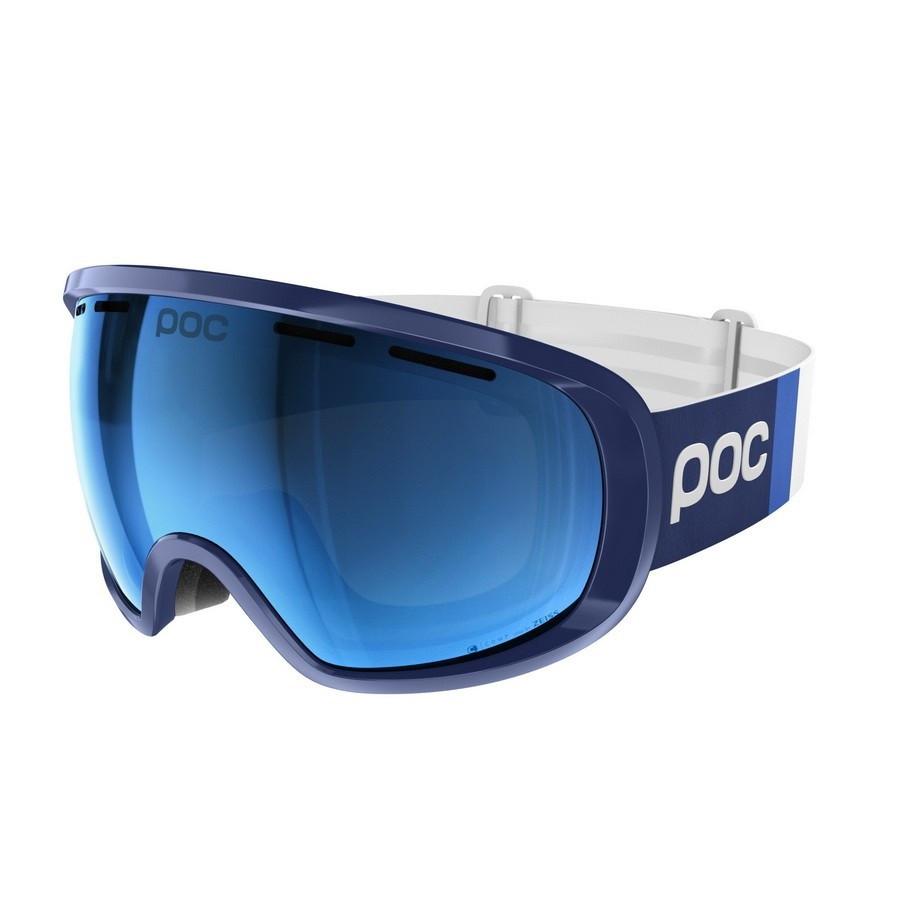 Маска гірськолижна POC Fovea Clarity Comp Lead Blue/Spetris Blue
