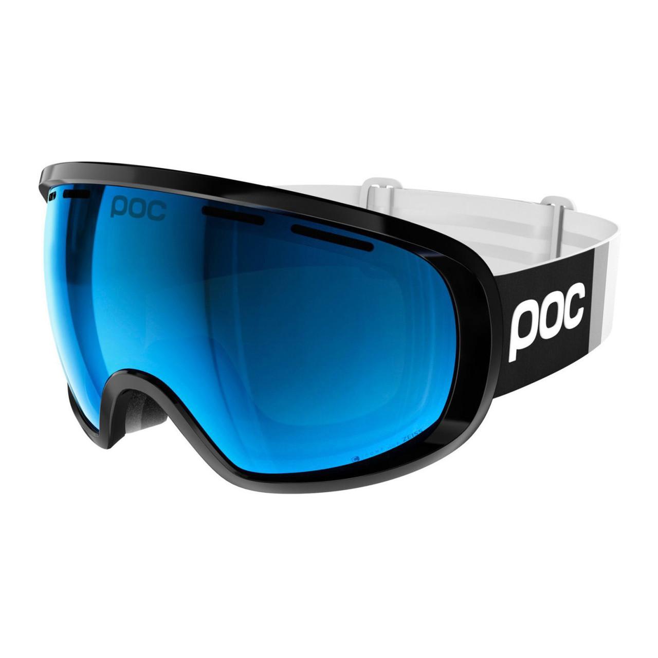 Маска гірськолижна POC Fovea Clarity Comp Uranium Black/Spektris Blue