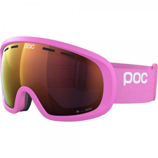Маска гірськолижна POC Fovea Mid Clarity Actinium Pink/Spektris Orange