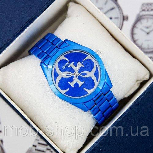 Стильний наручний годинник Guess 6990 Blue