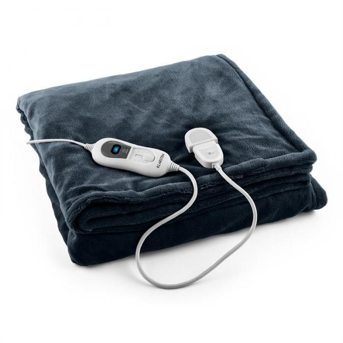 Электрическое одеяло Klarstein 10031581 серое