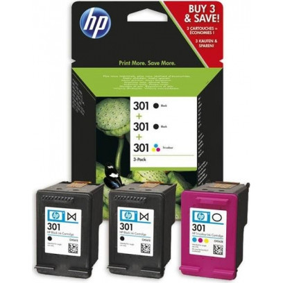 Картридж HP 301 Ink 3-Pack №13