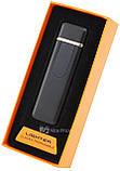 Спиральная электрическая USB зажигалка UKC 180 (Toyota) Black, фото 4