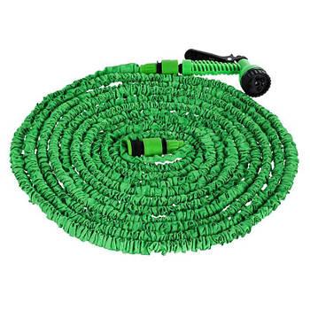 Шланг для поливу X HOSE 45 м + розпилювач Зелений