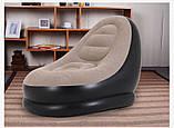 Надувное кресло с пуфиком Chanodug 4027 (0910), фото 7