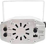 Лазерний проектор, стробоскоп, диско лазер UKC HJ08 4 в 1 c триногой Silver (4053), фото 3