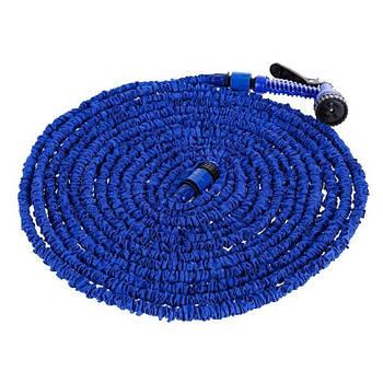 Шланг для поливу X HOSE 37.5 м + Розпилювач (синій)