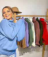 Женский свитер осень-весна. Женский яркий свитер вязаный .Свитер голубого цвета
