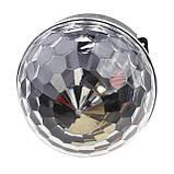 Светомузыка диско шар с Bluetooth MP3 + BT (с пультом и флешкой), фото 4
