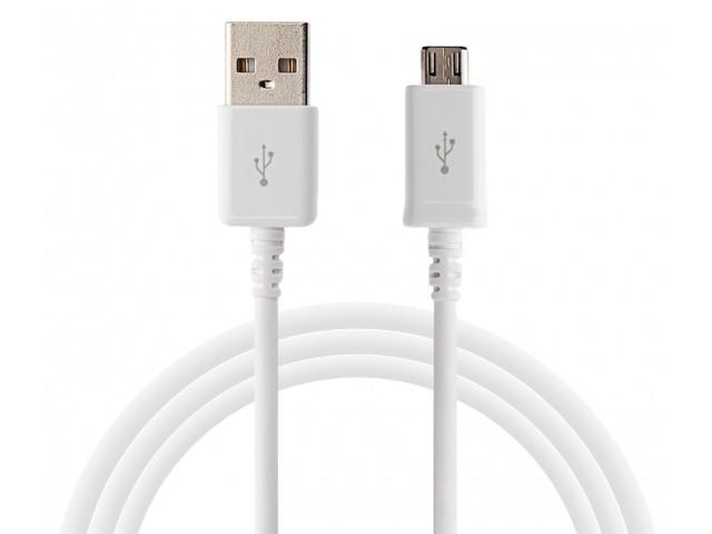 Кабель USB - Micro USB Spring S4 AR 53 White