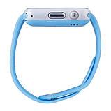 Умные часы телефон Smart Watch A1 c SIM картой Blue УЦЕНКА (230134), фото 2