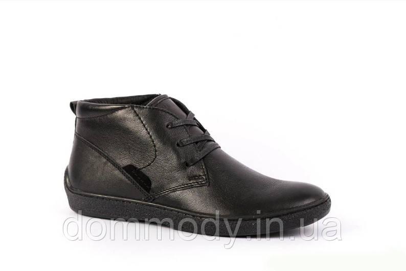 Ботинки мужские черного цвета Michael