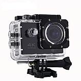 Водонепроницаемая спортивная экшн камера с пультом 4K V3 Wi Fi, фото 2