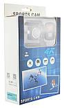 Водонепроницаемая спортивная экшн камера с пультом 4K V3 Wi Fi, фото 9