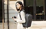 Рюкзак для ноутбука Xiaomi Minimalist Urban 15.6'' темно-серый, фото 7