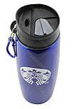 Термос Starbucks 500 мл металлический YSB-Q06 синий, фото 2