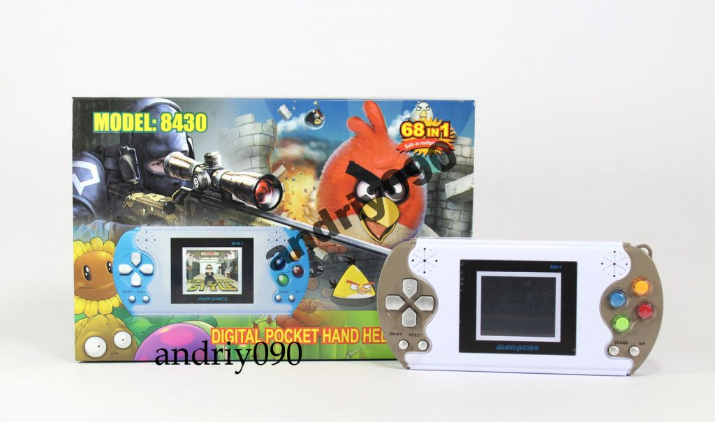 Игровая приставка 8430 68 игр консоль