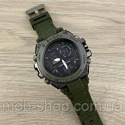 Чоловічий наручний годинник Casio G-Shock GLG-1000 Military-Black кварцовий і електронний механізм