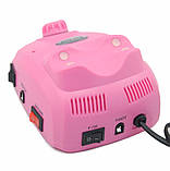 Професійний фрезер Beauty Nail Master DM-208 00073 для манікюру педикюру 30W рожевий, фото 3