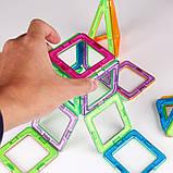 Магнитный конструктор для ребенка магнитные блоки 40 элементов, фото 5